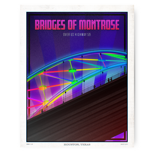 Houston Landmark Series- Bridges of Montrose