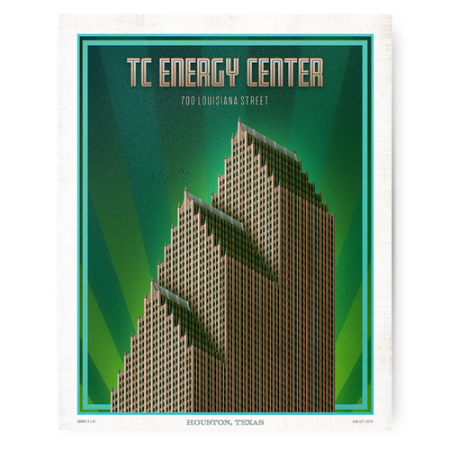 Houston Landmark Series- TC Energy Center