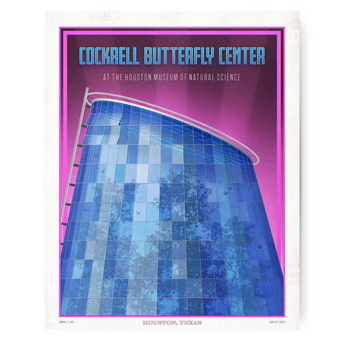 Houston Landmark Series- Cockrell Butterfly Center