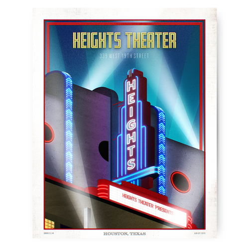 Houston Landmark Series - Heights Theater