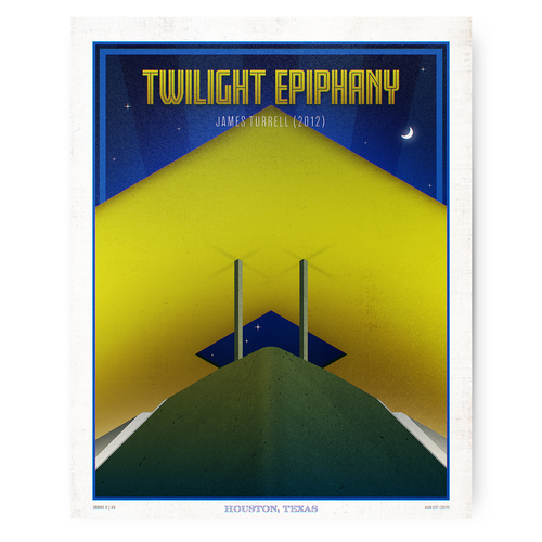 Houston Landmark Series- Twilight Epiphany