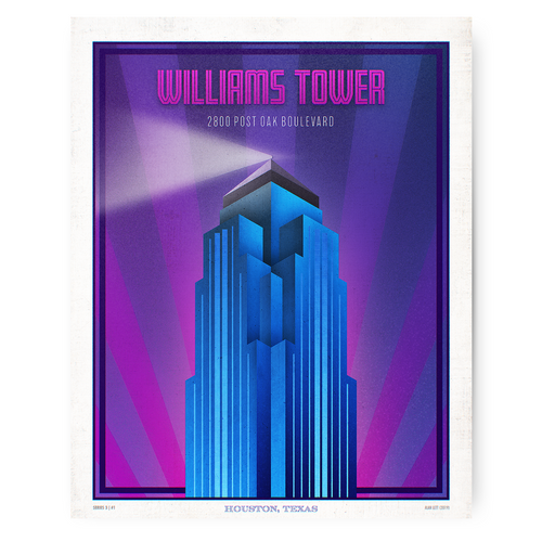 Houston Landmark Series- Williams Tower