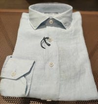 French linen shirt