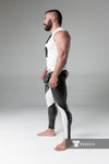 Maskulo Thigh Pads  Zipped Rear Leggings