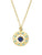 Universe Star Pendant Necklace with Lapis & Turquoise