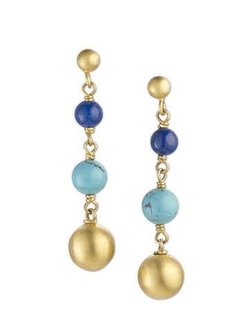 Zada Sun & Beads Earrings
