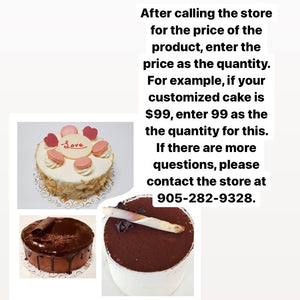 Customized Cake Payment