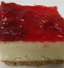 "Load image into Gallery viewer, Cherry Cheesecake Slab 16""x 12"" Serving 25-40"