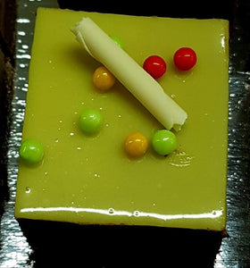 "2.5"" Square Lemon Mousse"