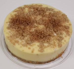 Cheese Cake apple crumble
