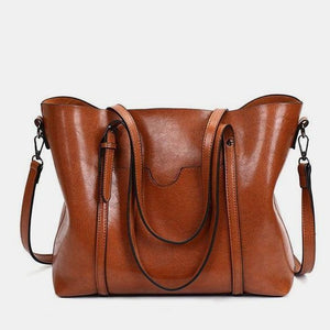 Women Tote Soft Leather Handbag