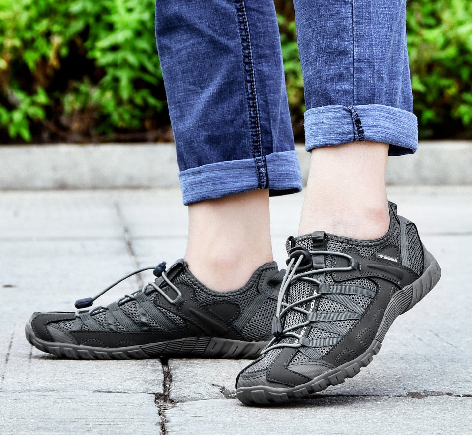 Summer Breathable Men's Casual Shoes