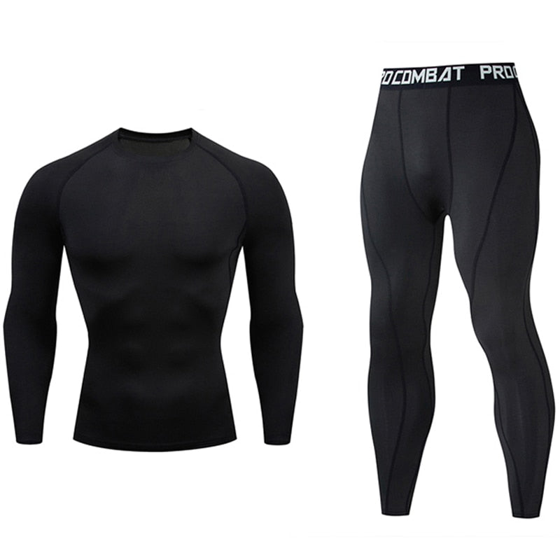 Gym jogging  thermo underwear