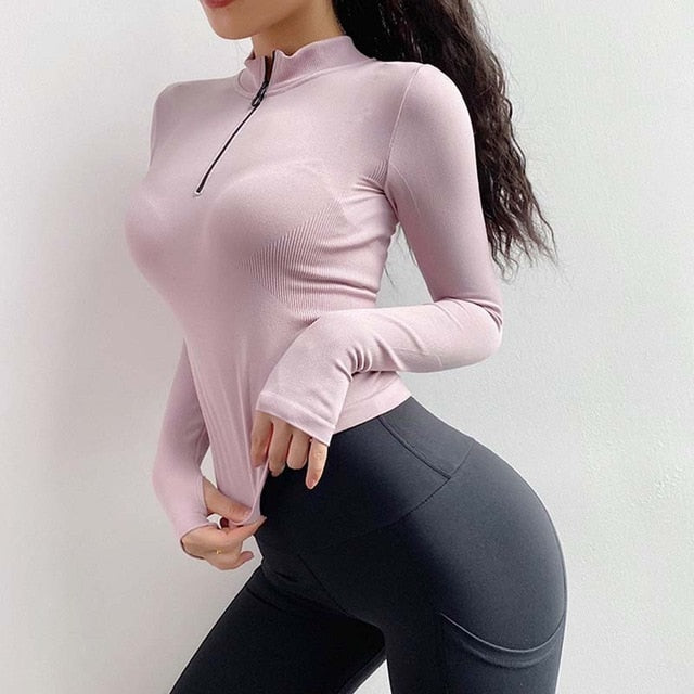Seamless Workout Top For Women