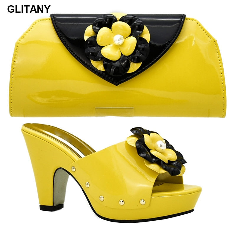 Shoes and Bags Matching Set for Women