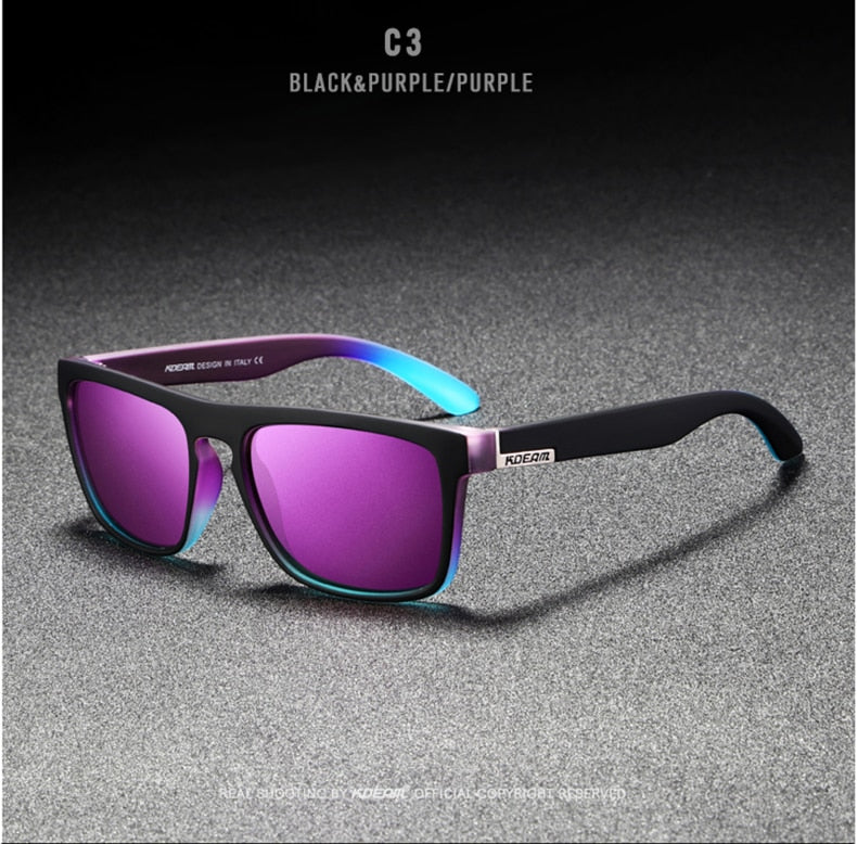New Mirror Polarized Sport Sunglasses for Men