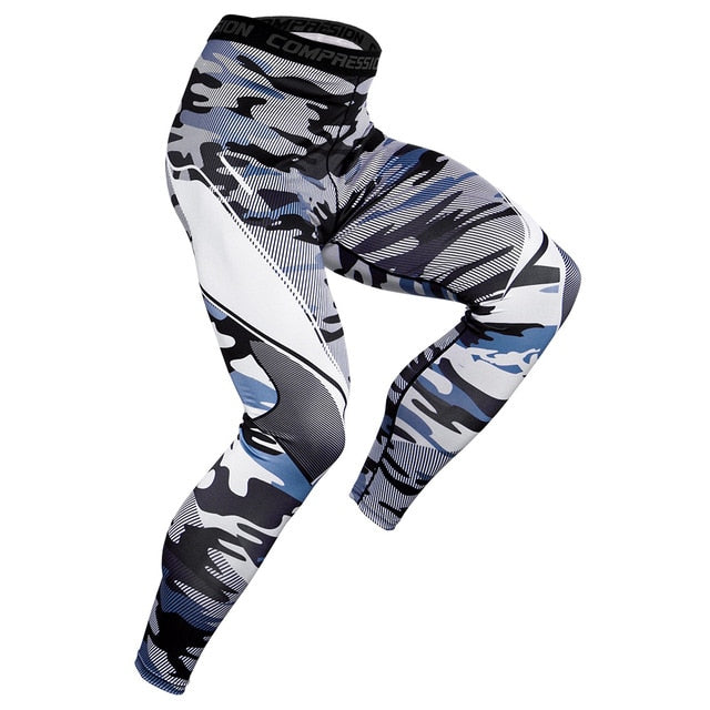 Male Yoga Workout Leggings