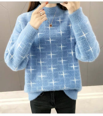 Women knitted Pullover