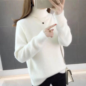 Turtleneck Women Sweater