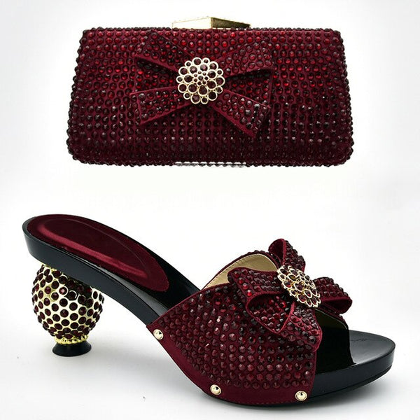 Women's Shoe and Bag Set