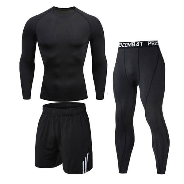3 Pcs/Set Men's Tracksuit