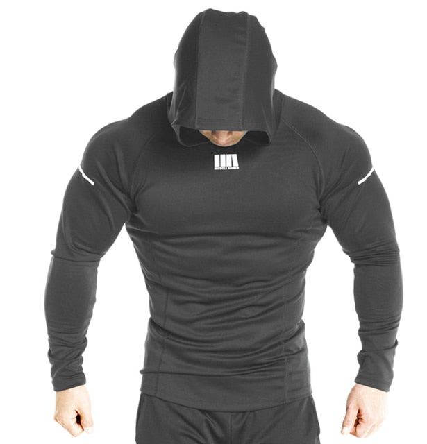 Casual Gyms Fitness Hooded