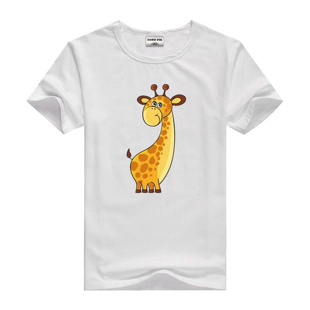 Children Boy T Shirt Cotton Short Sleeve