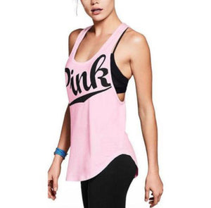 Ladies Stretch Workout Sleeveless Top