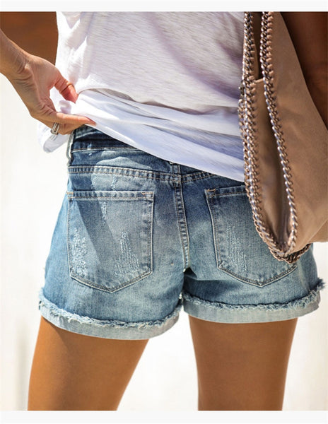 Summer Fashion Sexy Denim Shorts