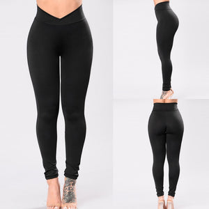 Fast-drying Solid Fitness Leggings