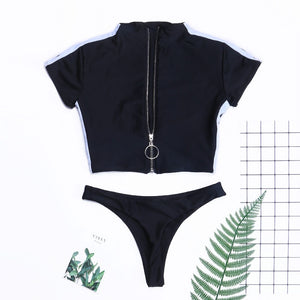 Women's Two-piece Tankini Suit