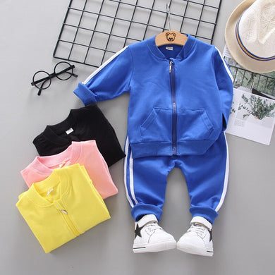Boys & Girls Spring/Autumn  Active Tracksuits