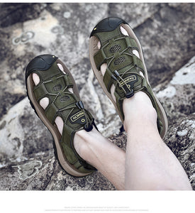 Classic Genuine Leather Sandals
