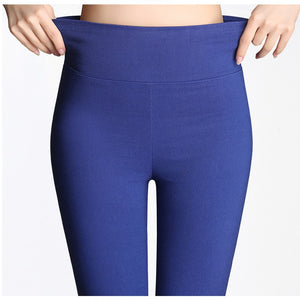 Fashion Candy Color Skinny Pants
