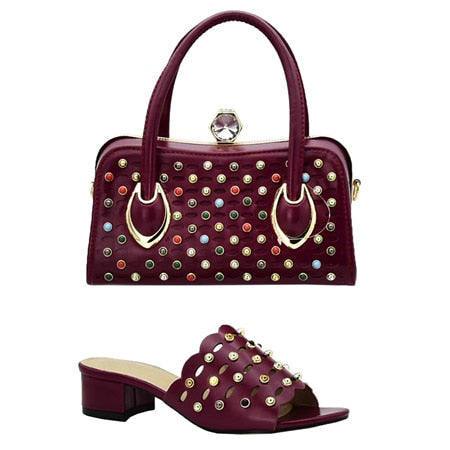 Women Shoes and Bags  Matching made in Italian Set