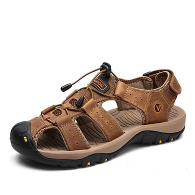 New Design Genuine Leather Sandals for Men