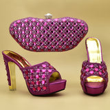 Women Shoes and Bag Matching Set