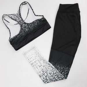 Ladies Fitness Sportwear Set Sleeveless Fit For All Sports