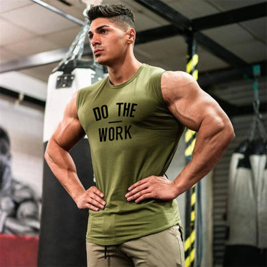 Gyms Clothing Workout Sleeveless Shirt