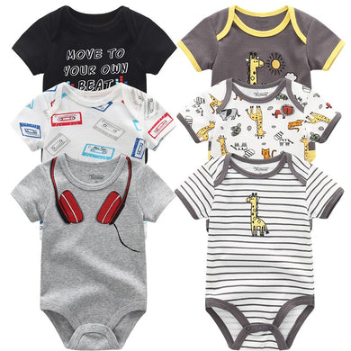 Newborn Baby Cartoon Rompers