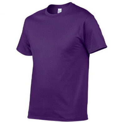 New Solid color Men's T-Shirts