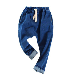 Autumn Boys trousers children's harem pants