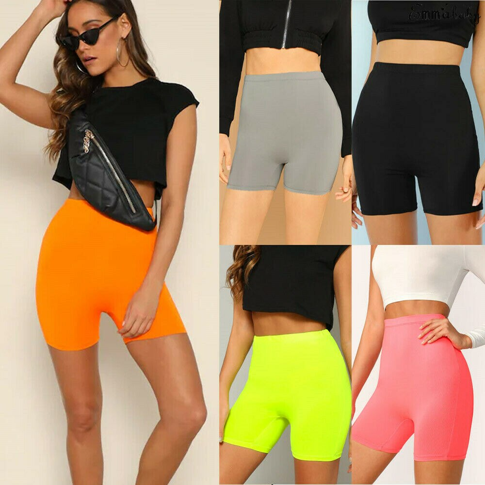 Stretchy Compression Yoga Shorts
