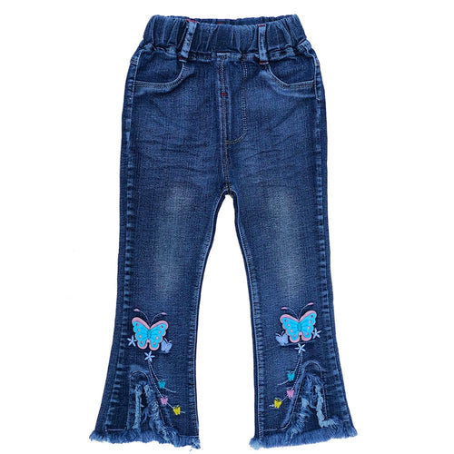 18m-6Years Baby Girl Jeans Denim Pants
