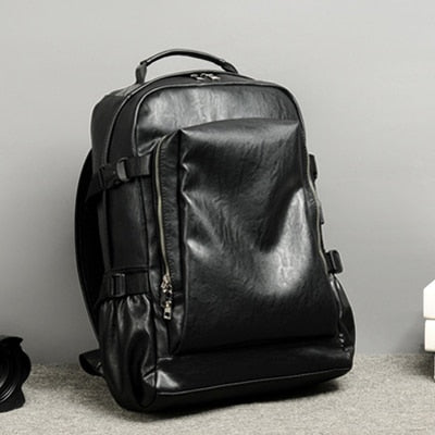 Men travel business backpack
