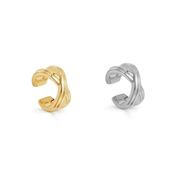 Pearl Ear Cuff Bohemia Stack-able C Shaped Earrings