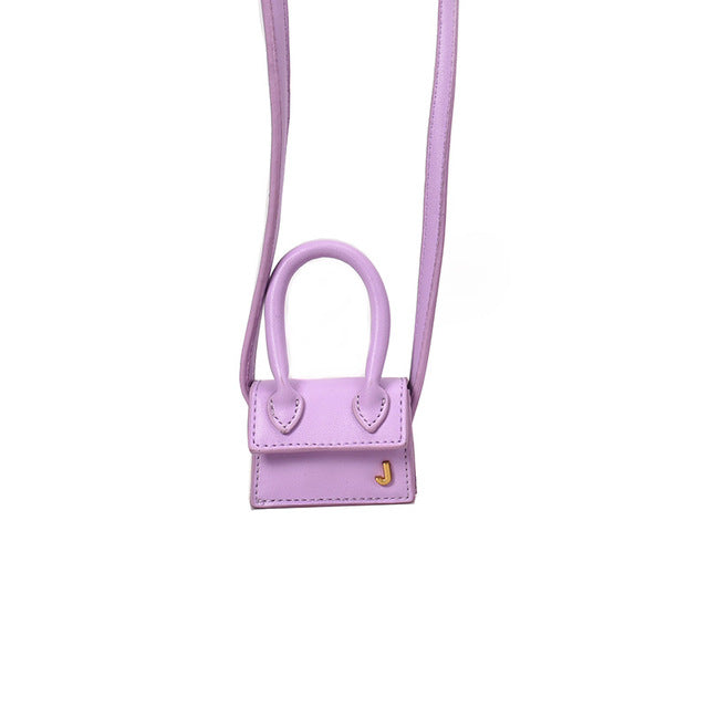 Luxury Handle Mini J Bags