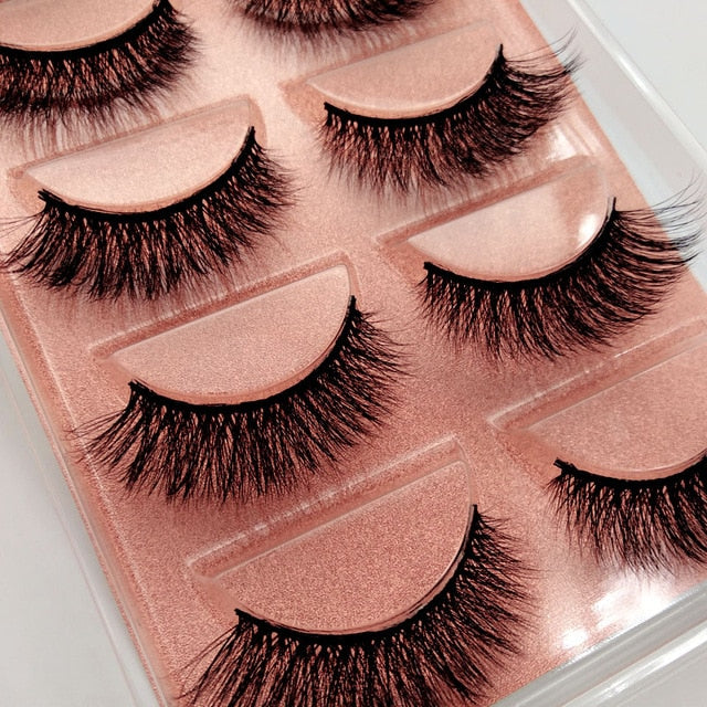 1 box Eylashes Mink False
