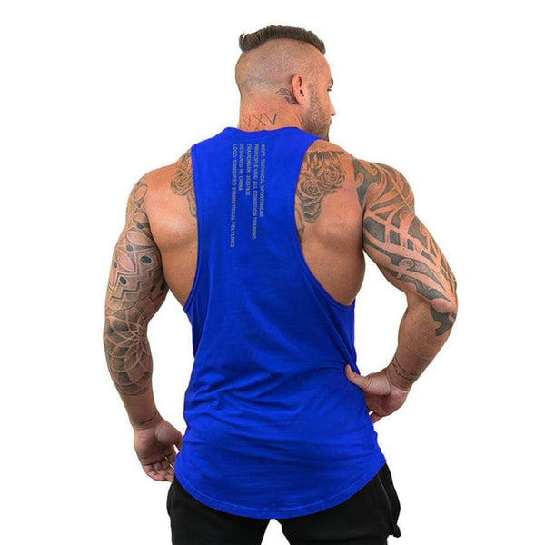 Bodybuilding Cotton Gym Tank Tops