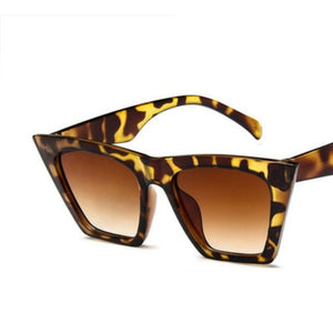 Women Cat Eyes Colorful Sunglasses